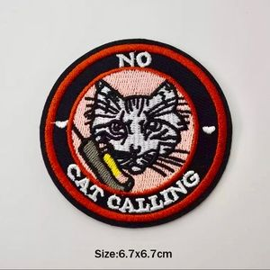 Accessories - Stop Catcalling Iron On Embroidered Patch
